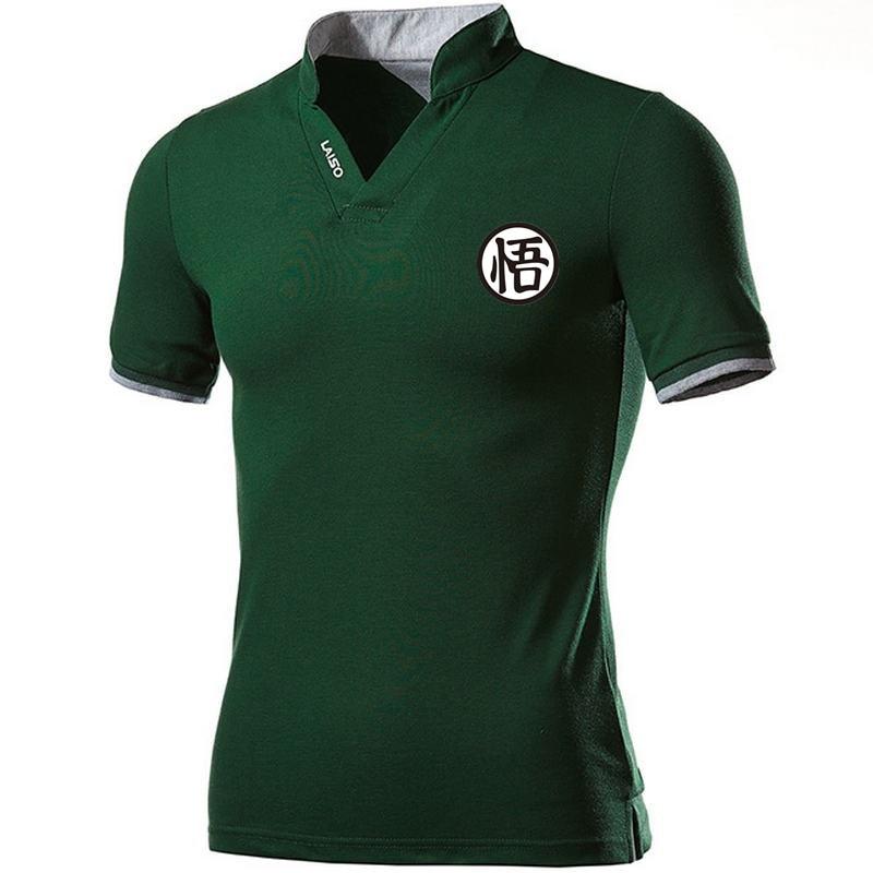 Pure Cotton Mens Summer Short Sleeve   Polo   Shirts Fashion Casual Sportswear Men Printing Shirt Men   Polo   Comfortable V-Neck Tees