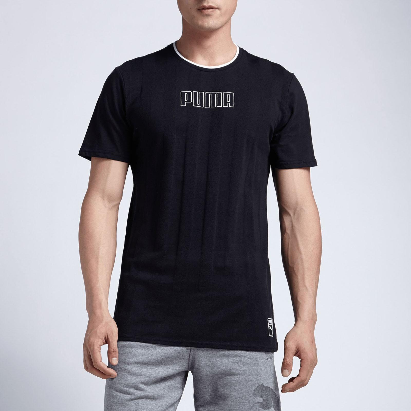 Male T-Shirt PUMA 57499701 sports and entertainment for men men s quartz leather watch male wristwatch relogio masculino relojes big dial watches men luxury brand holuns 2017 reloj hombre