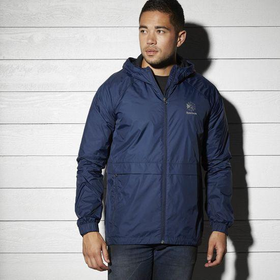 Windbreaker REEBOK BK5142 sports and entertainment for men
