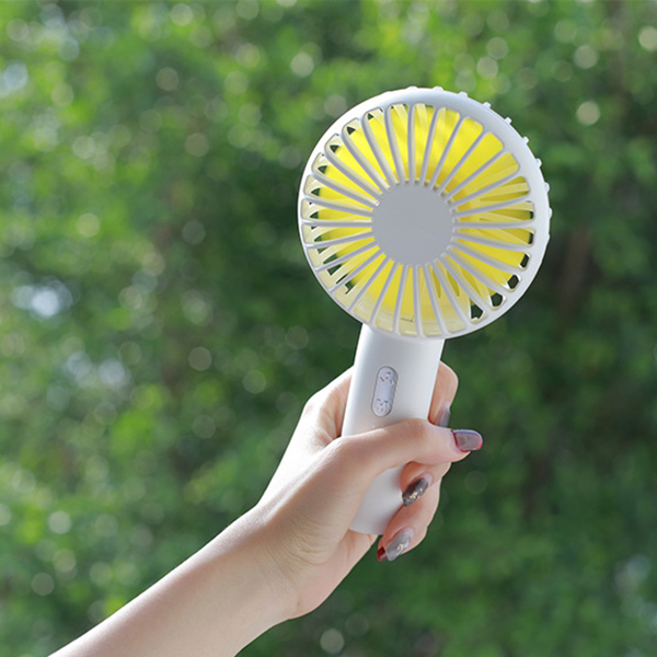 Image 5 - Fan Mini Handheld Desktop Outdoor Silent Portable Bracket Small Fan Usb Charging Fan-in Fans from Consumer Electronics