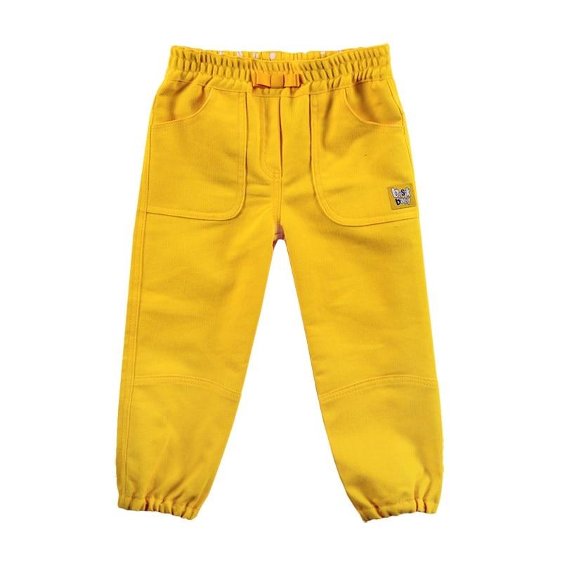 Basik Kids denim pants kids clothes children clothing bleached ripped pockets denim pants