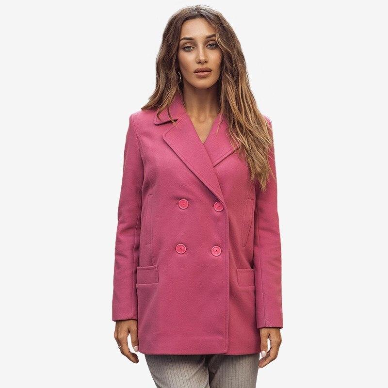Фото - Coat. Color pink velvet hooded color block coat