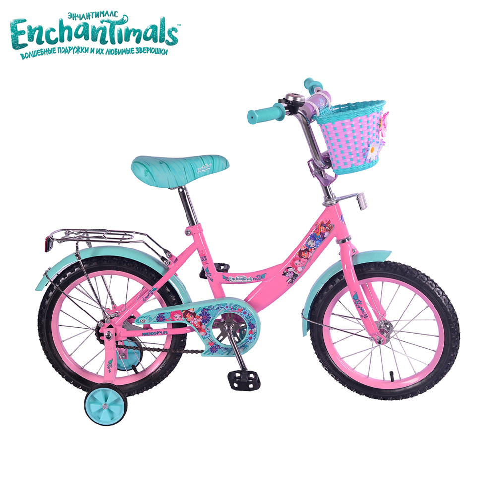 Bicycle Enchantimals 265208 bicycles teenager bike children for boys girls boy girl gub 328 bike bicycle handlbar mount holder for speedometer flashlight golden