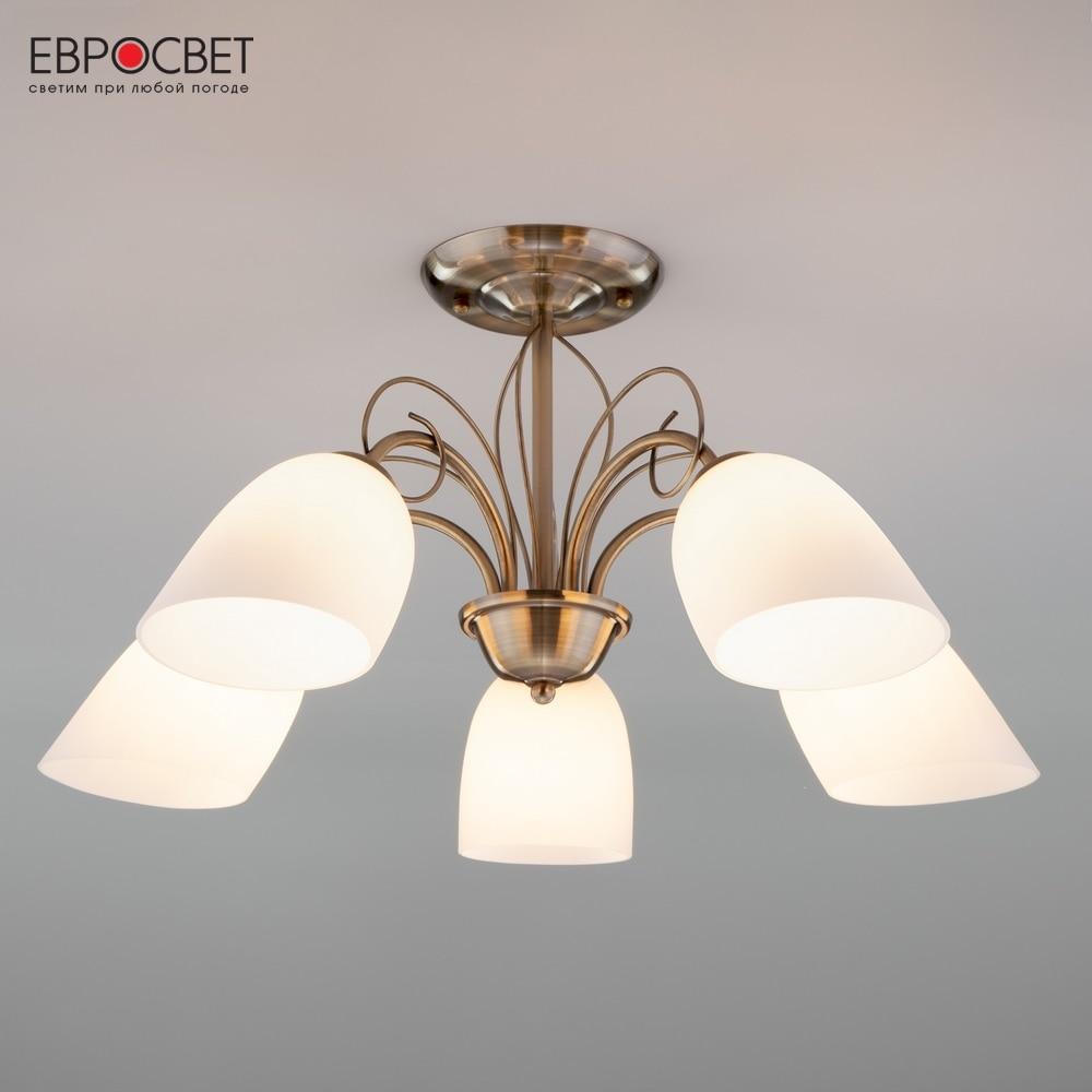 Chandeliers Eurosvet 84505 ceiling chandelier for living room to the bedroom indoor lighting nowley nowley 8 5294 0 7