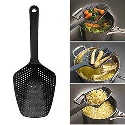 나일론 스트레이너 큰 국자 쿠리 주방 가전 숟가락 삽 수프 숟가락 필터 요리 도구 홈 주방 액세서리