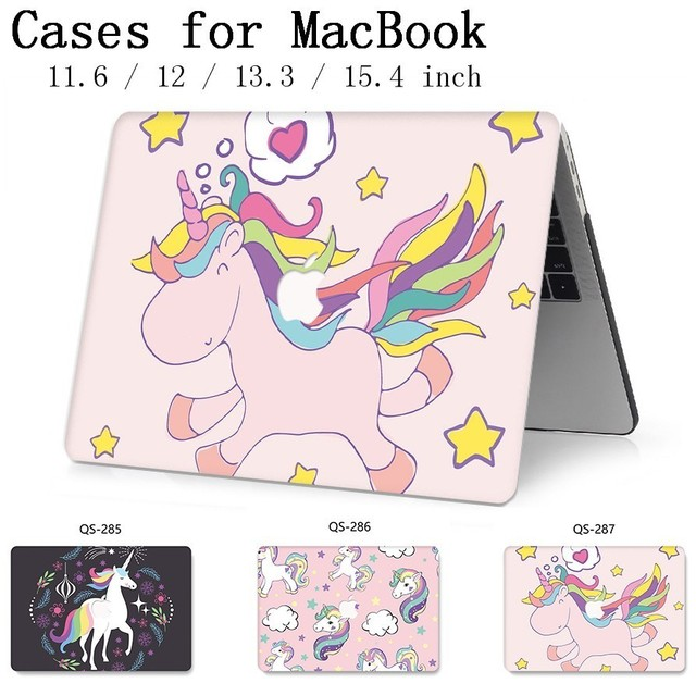 Hot Notebook Sleeve For New MacBook Air Pro Retina 11 12 13 15.4 13.3 Inch With Screen Protector Keyboard Cove For Laptop Case
