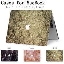 Para funda de ordenador portátil para MacBook 13,3 de 15,4 pulgadas para Retina MacBook Air Pro 11 12 con teclado Protector de pantalla cove