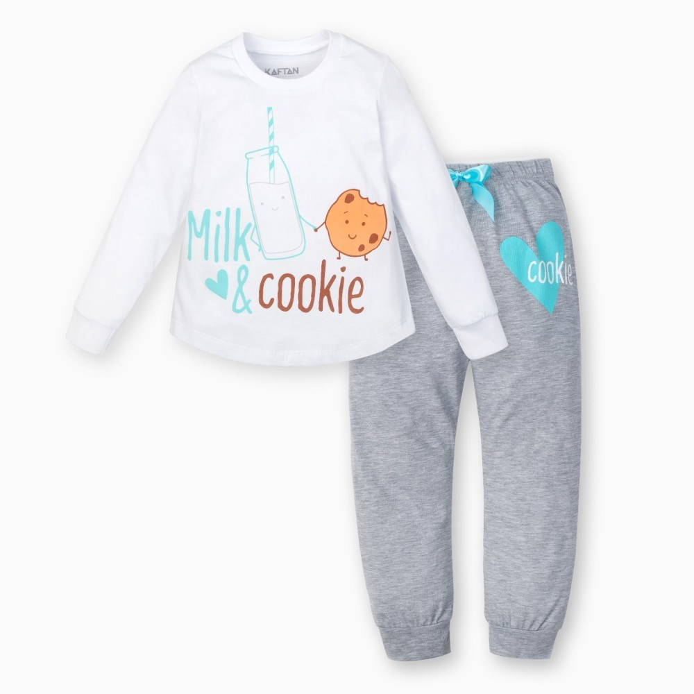 Pajama pants and jumper Friends 3 8g. 95% cotton 5% elastane eyelash lace trim cami pajama set