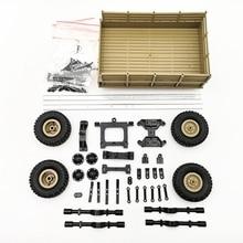 For Wpl Rc Car Accessories Diy 4-Wheel Trailer Truck Gaz Part Replacement
