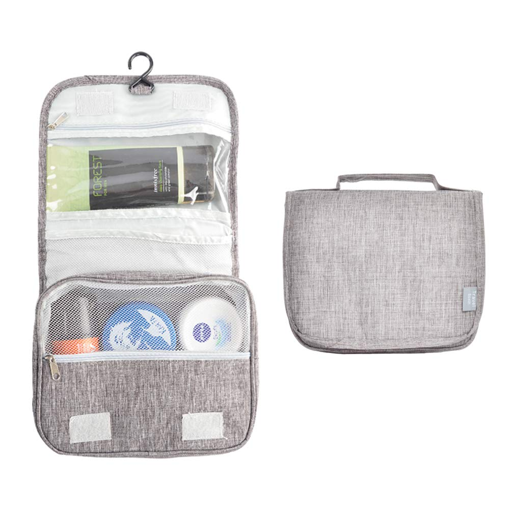a689391cf131 HOMEE Toiletry Bag, Multifunction Pratable Cosmetic Bag, Travel Hanging  Organizer Case for Men and Women
