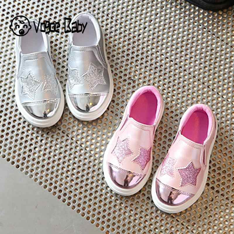 Children shoes Girls casual Flat silver Pink kids casual Shoes toddler girls shoes summer fashion trainers boys sneakers 4829
