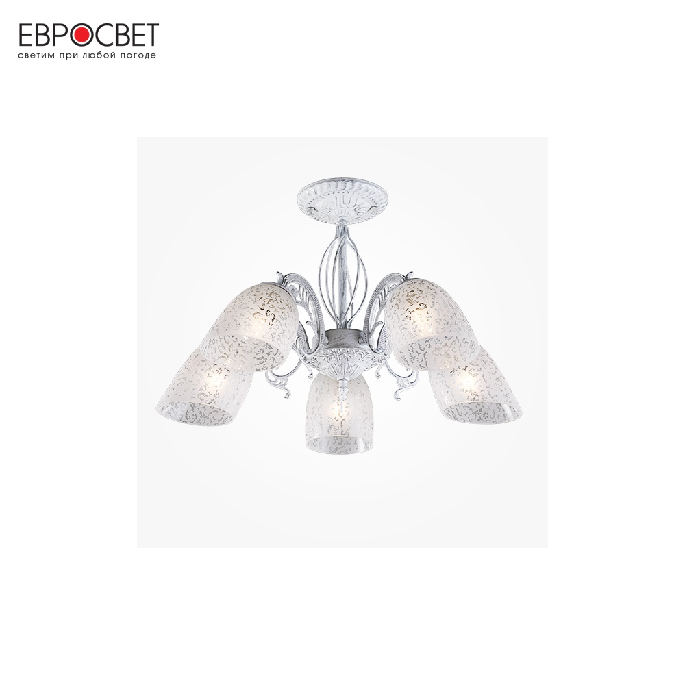 Chandeliers Eurosvet 84587 ceiling chandelier for living room to the bedroom indoor lighting
