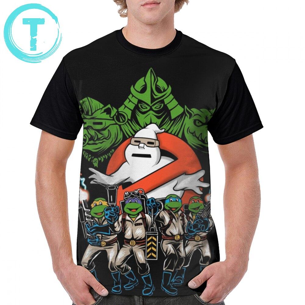 Ghostbusters T Shirt Krang Busters T-Shirt Print 100 Percent Polyester Graphic Tee Shirt 6xl Fashion Funny Short Sleeves Man Tshirt