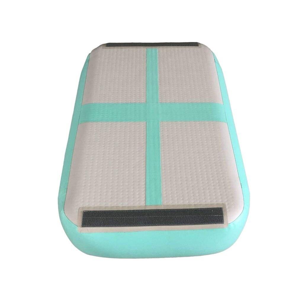 Free Shipping 1m*0.6m *0.1m Gym Mat Inflatable Gymnastics Tumble Track Air Block Air Board