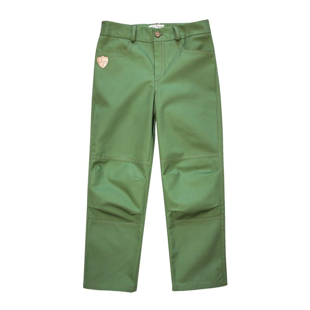 Фото - Little People 36329 Pants green M No. (092) green side pockets wide leg plain middle waisted pants