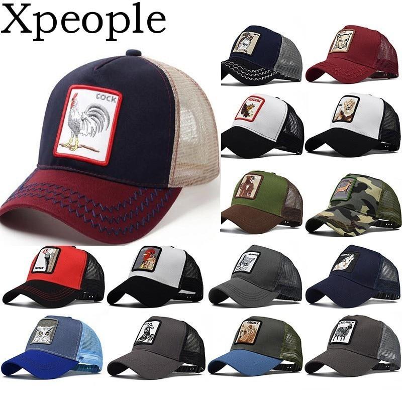 Xpeople 2019 Baseball Cap Männer Frauen Tier Bauernhof Snap Zurück Trucker Hut Mesh Papa Hut Knochen Frauen Hysterese Hip Hop Hut Bequem Und Einfach Zu Tragen Bekleidung Zubehör