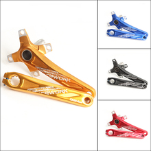 104BCD MTB Bike Crankset Aluminum Alloy With Bottom Bicycle Crank Accessories 4 Colors RU Domestic Delivery