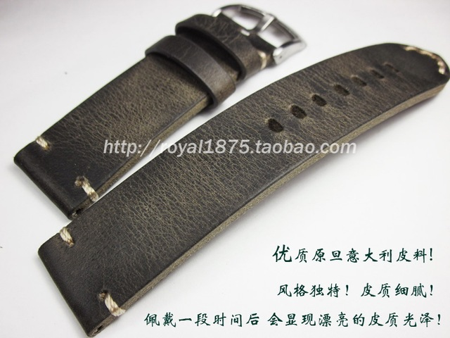 068fe9d5468c 18 19 20 21 22mm Handmade Vintage Leather High Quality Watch Strap Men For  MIDO Casio