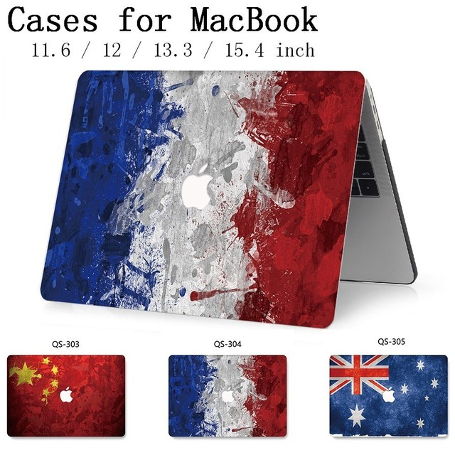For Hot MacBook Air Pro Retina 11 12 13 15.4 Laptop Bag Case For Macbook 13.3 15.6 Inch With Screen Protector Keyboard Cove Gift