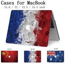 Для горячего MacBook Air Pro retina 11 12 13 15,4 сумка для ноутбука чехол для Macbook 13,3 15,6 дюймов с защитой экрана клавиатуры в подарок