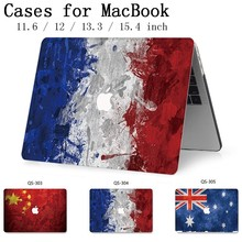 Na gorące MacBook Air Pro Retina 11 12 13 15.4 torba na laptopa etui na Macbooka 13.3 15.6 Cal z osłoną ekranu klawiatura cove prezent