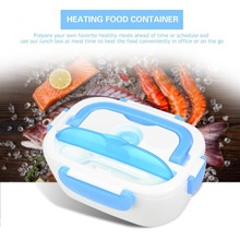 Electric Heating Lunch Box Portable Kids Food Container Thermos Lunchbox Bento Box With Cutlery Home Office Eu Us Plug