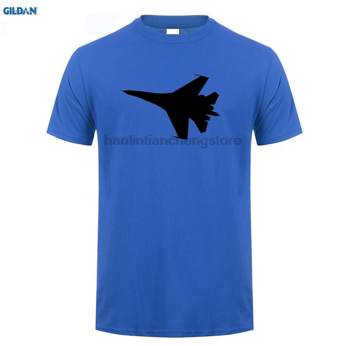 GILDAN Summer style mens T-shirt  Su-27 Evolution - Aviation Kids T-Shirt for men