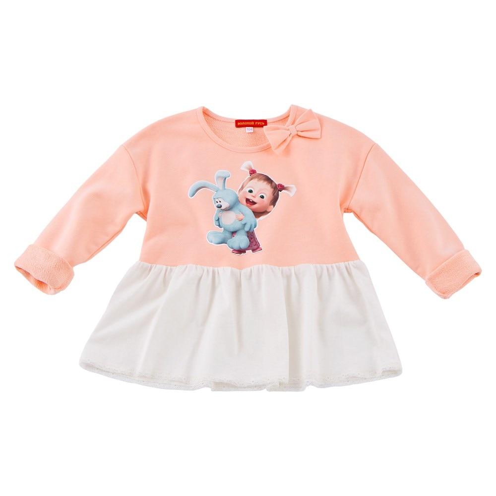 Masha and Bear Shirt-sweatshirt combination masha and bear blouse long sleeve flashlight