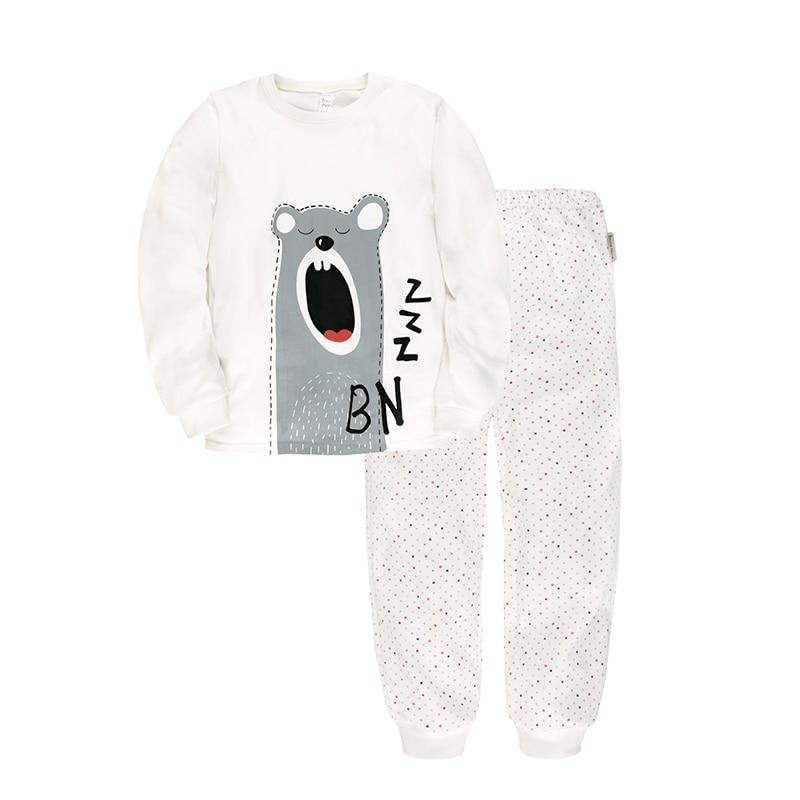 Children's Sleepsuits & Pyjama Bossa Nova 356K-161m White Cotton esspero i nova white coffee