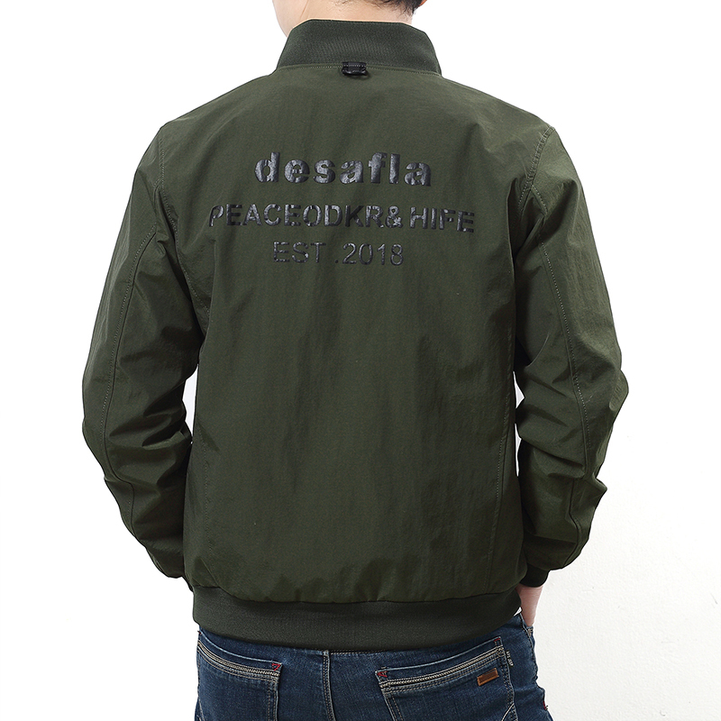 Casual Automne Jaqueta Masculina army Manches Longues Mode De 6xl Hommes Black 8xl 9xl Loose Nouveautés Fit Veste 10xl Green Vestes 5xl wTBaZ8xHnq