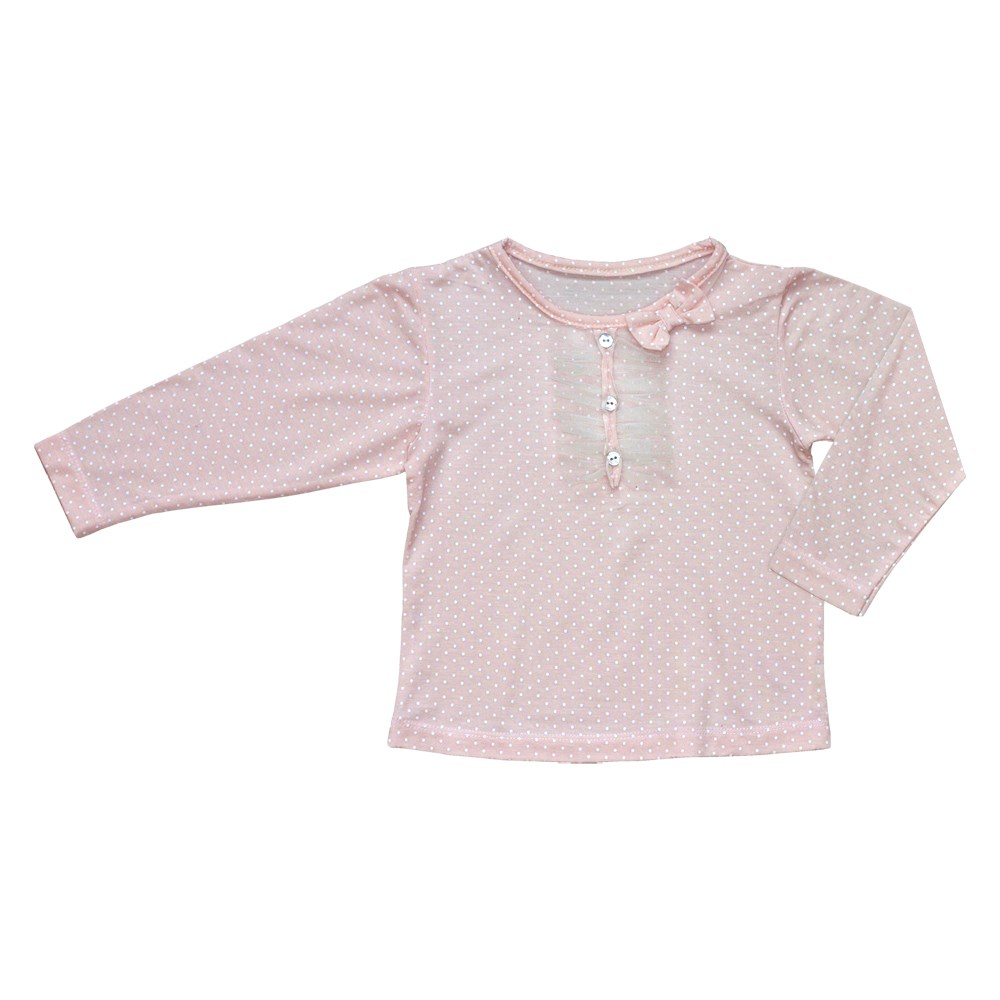 цена Blouse knitted polka dot kids clothes children clothing