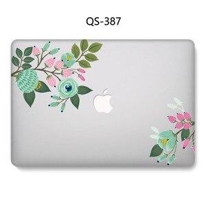 Image 2 - 2019 чехол для ноутбука Apple Macbook 13,3 15,6 дюймов для MacBook Air Pro retina 11 12 13 15,4 с защитной клавиатурой