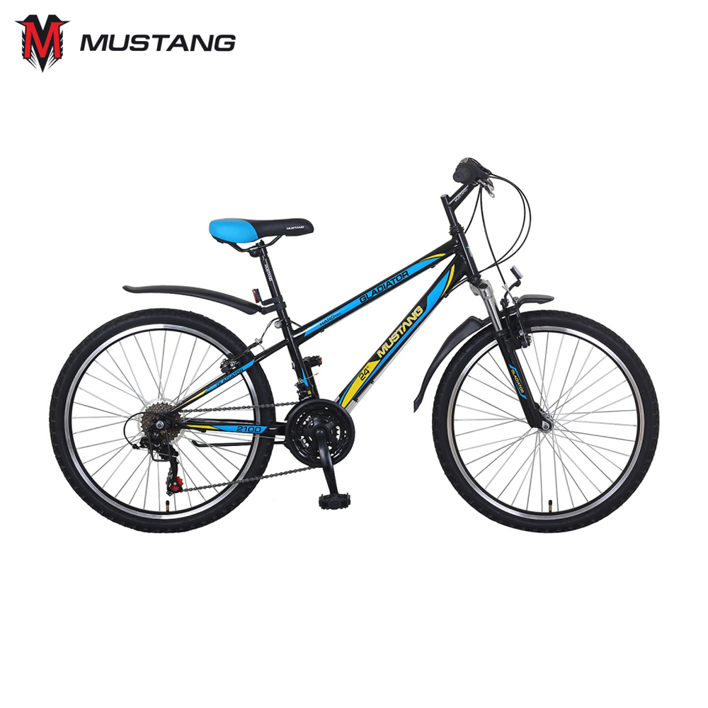 Bicycle Mustang 265239 bicycles teenager bike children for boys girls boy girl cnc alloy mtb bike bicycle chain bash guard mount chainring guide 30 40t p c d 104mm bike crankset protection