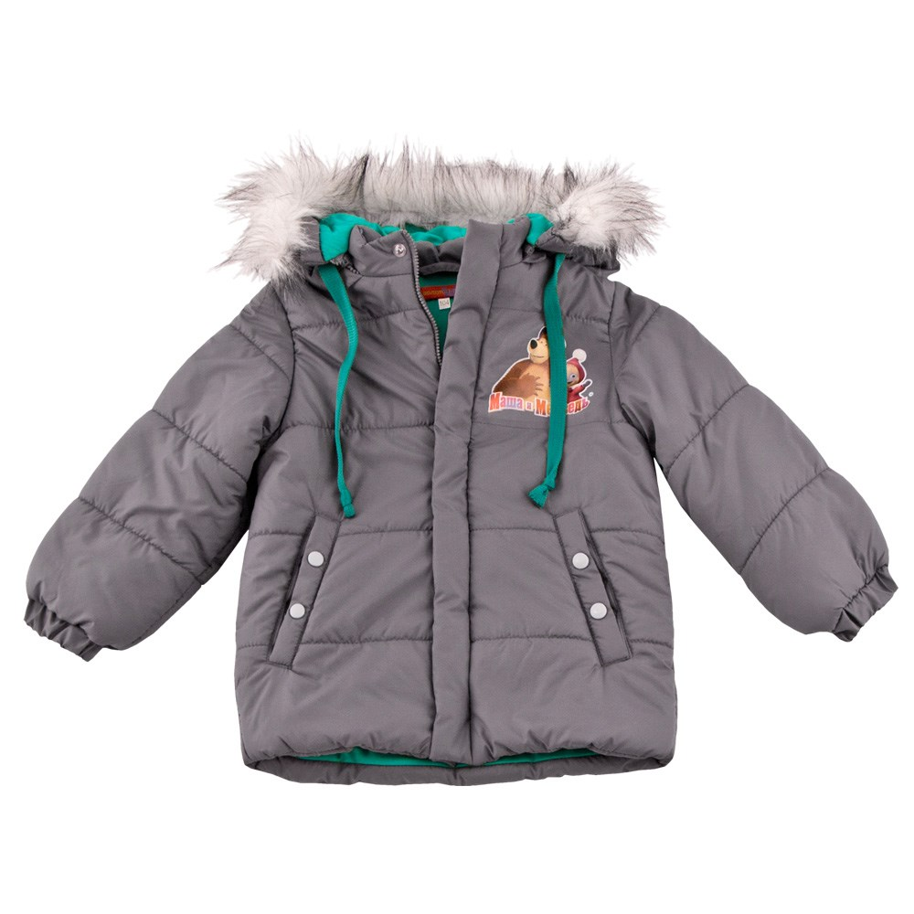 Masha and Bear Jacket with fur