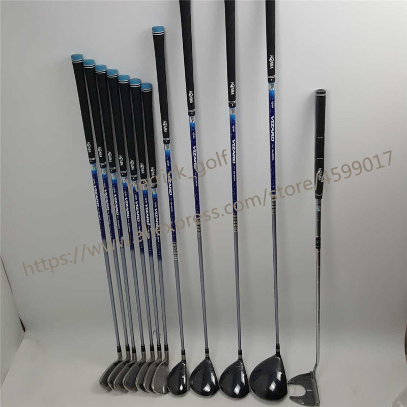 Купить с кэшбэком Brand New Women's HONMA Golf Club HONMA BEZEAL 525 Golf Complete Set Graphite Shaft L Flex with Wood Putter Head Cover (No Bag)