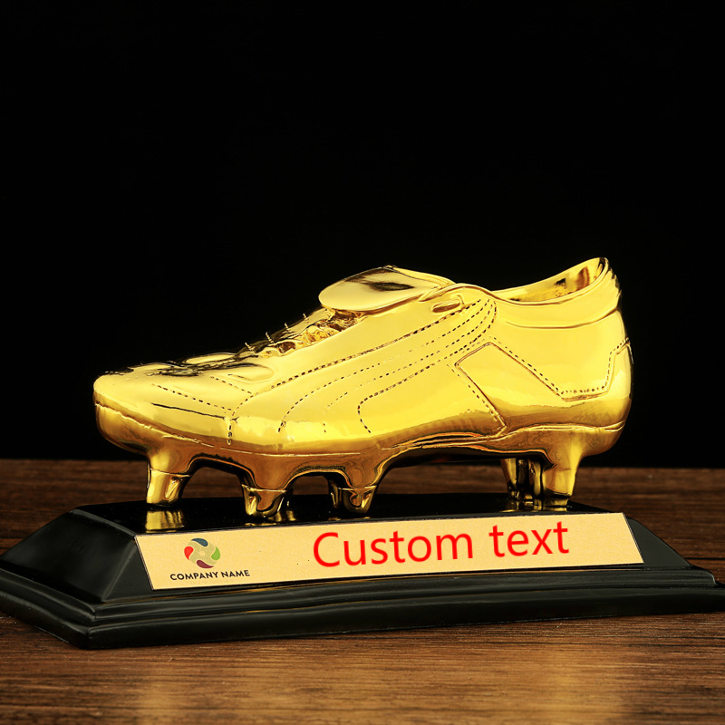 bc47b91285d4 Gold C7 Star Football Golden Boot Replica Shoes Customizable Golden Boot  Award Golden