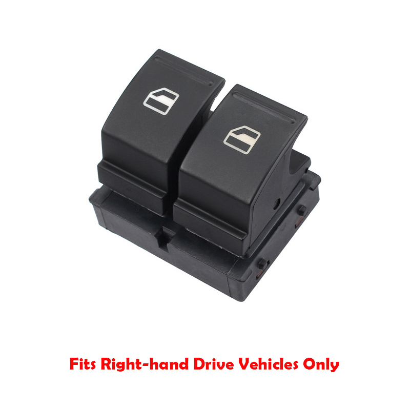ELECTRIC WINDOW SWITCH BUTTONS DRIVER SIDE SKODA FABIA MK2 ROOMSTER 1Z0959858
