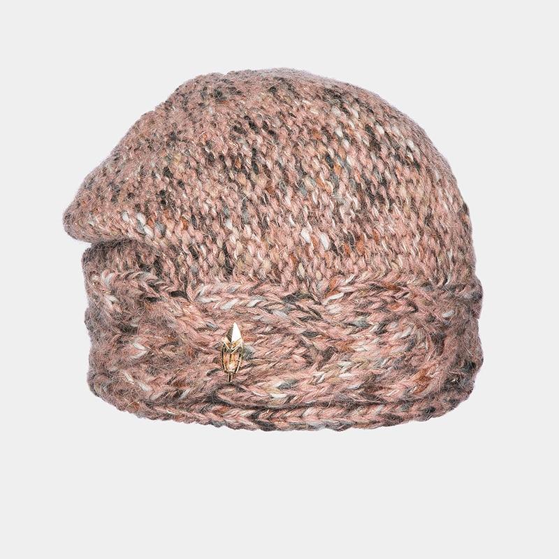 Hat Woolen hat Canoe 3447152 ELEANORA stylish woolen beanie winter hat cap camouflage