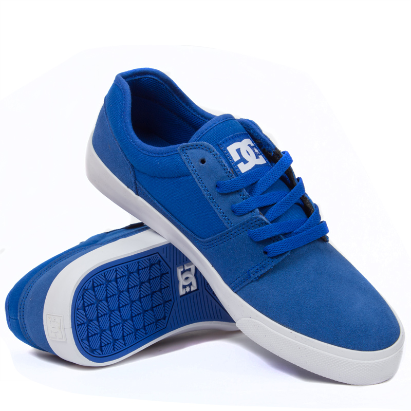 Male Sneakers DC SHOES 302905-BLU sports and entertainment for men northmarch spring autumn brand genuine leather men shoes elastic breathable men casual shoes men flats sneakers shoes zapatillas