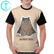 Wombat T Shirt Wombatman T-Shirt 100 Polyester Short Sleeves Graphic T