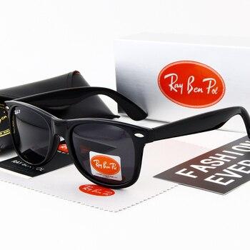 1d716dde3d Los hombres gafas de sol polarizadas de las mujeres de la marca gafas de sol  de conducir espejos punto gafas de Moda hombre mujer gafas UV400