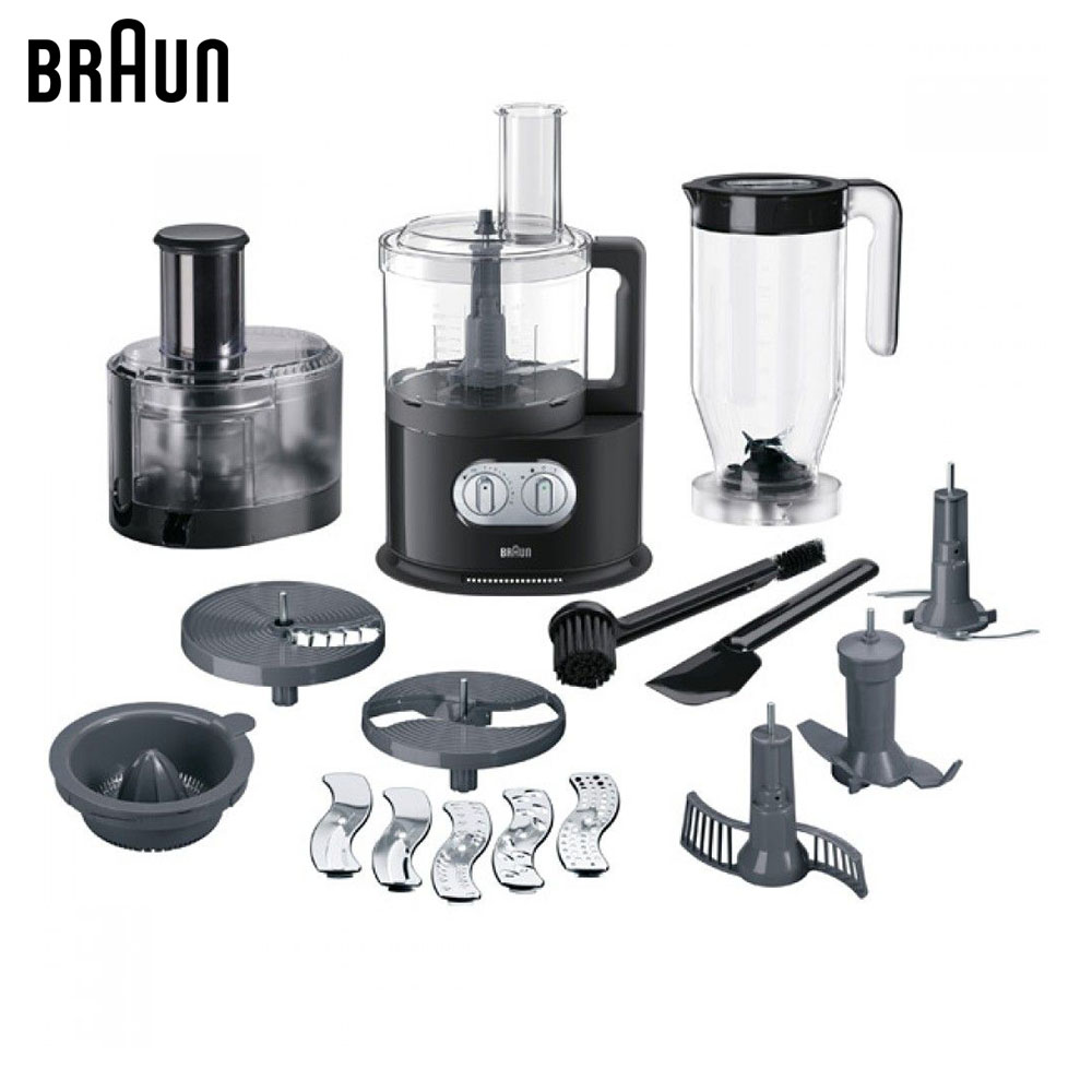 Food Processors Braun IdentityCollection FP5160BK black blender truck machine chopper braun mq40 big chopper mq7 series black емкость для блендера