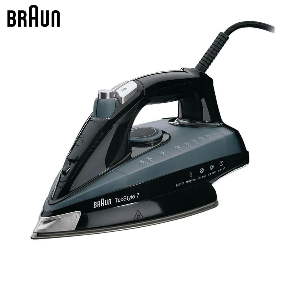 Electric Irons Braun TexStyle 7 TS745 A steam iron steamer electric irons braun texstyle 5 ts535 tp steam iron steamer