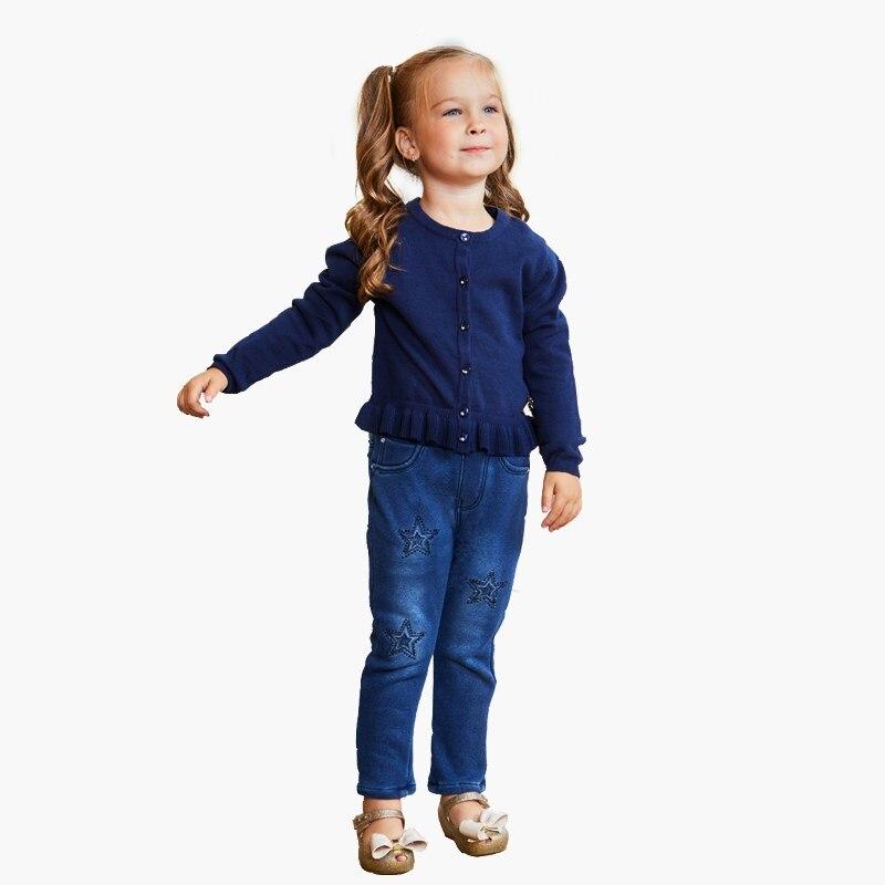 Pants knitted girls fur (jeggings)