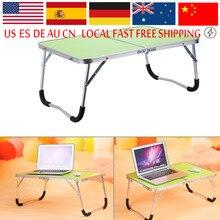 Tragbare Multifunktionale Computer Schreibtisch Camping Outdoor Möbel Faltbare Picknick Tisch Schlafsaal Bett Notebook Schreibtisch