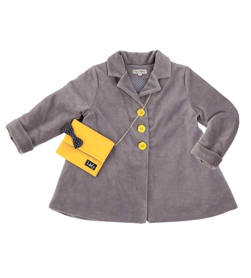 Basik Kids Coat Ser. melange 140m f8n c25 ser c used in good condition with free dhl ems