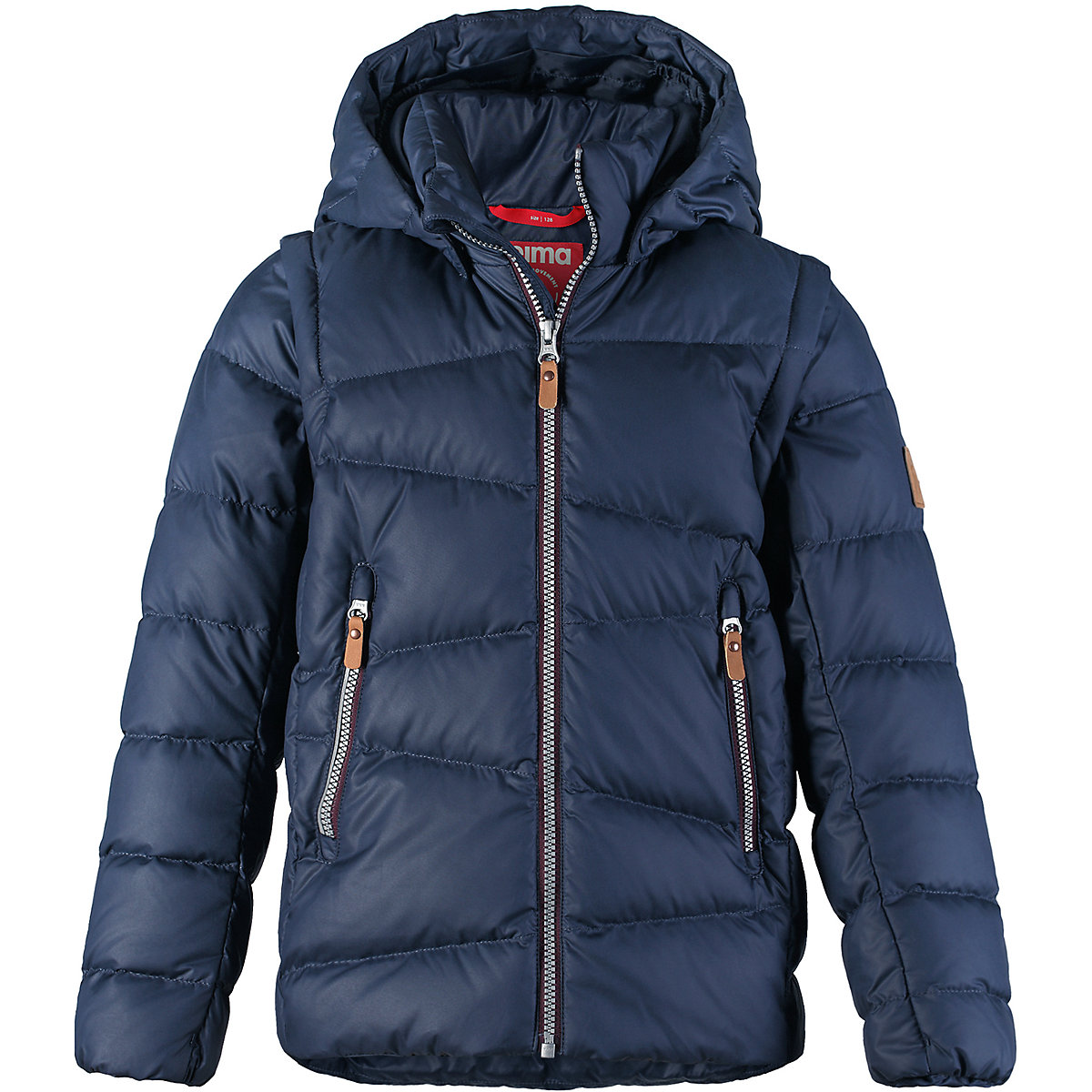 REIMA Jackets 8689636 for boys polyester winter  fur clothes boy brand orangemom winter boys baby clothes 0 24m infant costume for a boy coat jackets soft high quality outerwear