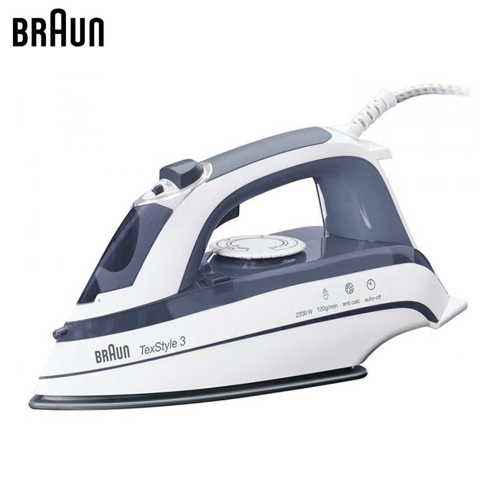 Electric Irons Braun TexStyle 3 TS375 A steam iron steamer electric irons braun texstyle 5 ts535 tp steam iron steamer