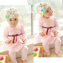 Baby Spring Clothes Childrens And Autumn 0-1-2-3 Year 2019 New Pattern Korean Two Paper Suit