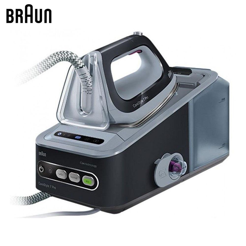 Electric Irons Braun CareStyle 7 PRO IS7056 BK steam iron steamer
